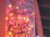 Decorazione natalizia riciclo boccioni d'acqua