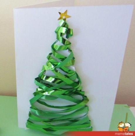 Biglietti di Natale con alloro e arancia per degli auguri profumati!