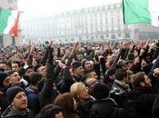 Roma, presidio Piazza Popolo dicembre Forza Nuova partecipa