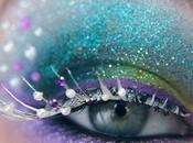 make-up delle feste: glitter look diva