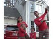 famiglia Holderness canta stile hop: video Natale trash