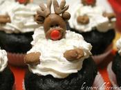 Cupcakes natalizie cioccolato passo realizzare renna pasta zucchero