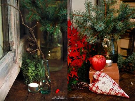 Semplici decorazioni natalizie paperblog - Decorazioni natalizie finestre ...