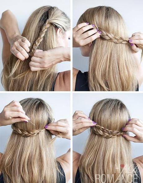 Tutorial acconciature capelli medi lisci