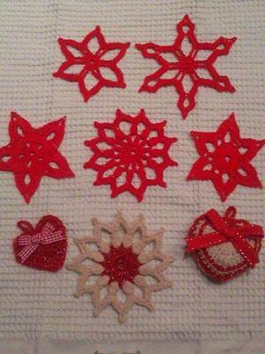 Decorazioni natalizie all 39 uncinetto paperblog - Decorazioni uncinetto ...