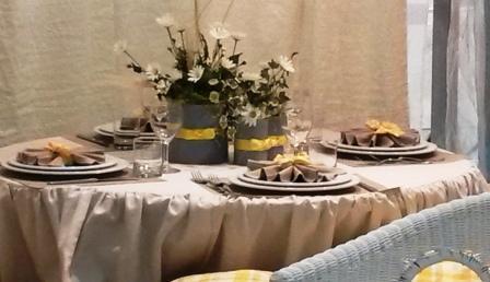 Ecco come apparecchiare e guarnire la tavola di natale - Apparecchiare una tavola elegante ...