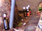 Fotogallery completa dallo scempio delle strade Flaminio. Roba umiliante genere umano