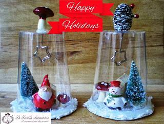Lavoretti Di Natale Per Bambini Con Bottiglie Di Plastica.Lavoretti Di Natale Con I Bicchieri Di Plastica Pupazzi Ed