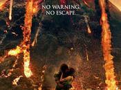 dolce bacio sotto Vesuvio eruzione primo emozionante poster Pompei