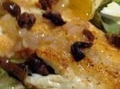 Filetto spigola all'arancia olive taggiasche
