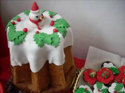 Decorazioni per torte natalizie torta con pizzi e stella - Decorazioni torte natalizie ...