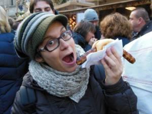 Alessia vs salsiccia