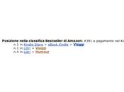 Esperimento auto pubblicazione e-book Amazon: cos'è successo mesi.