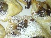Sfogliatine nutella pere