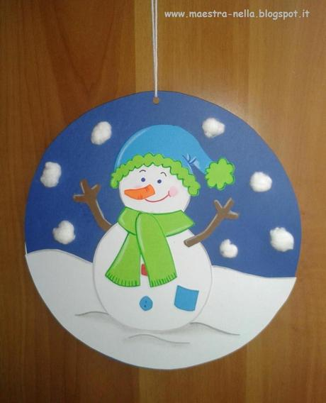 Addobbi invernali paperblog - Addobbi natalizi per finestre scuola infanzia ...