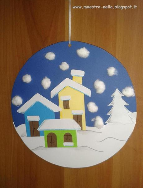 Addobbi invernali paperblog for Addobbi natalizi scuola primaria