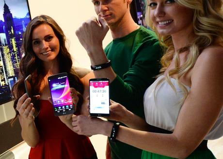 Il primo device indossabile di LG è Lifeband Touch