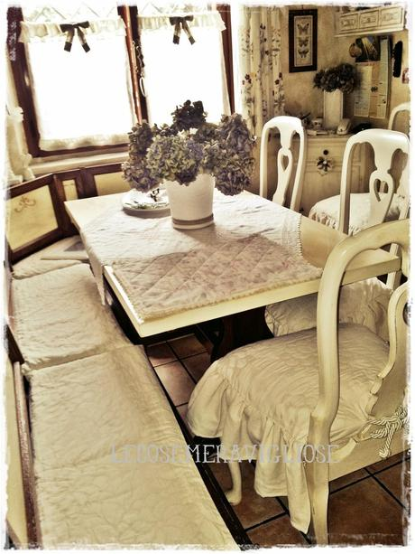 Tende cuscini e complementi creativi country e shabby for Cuscini country per cucina