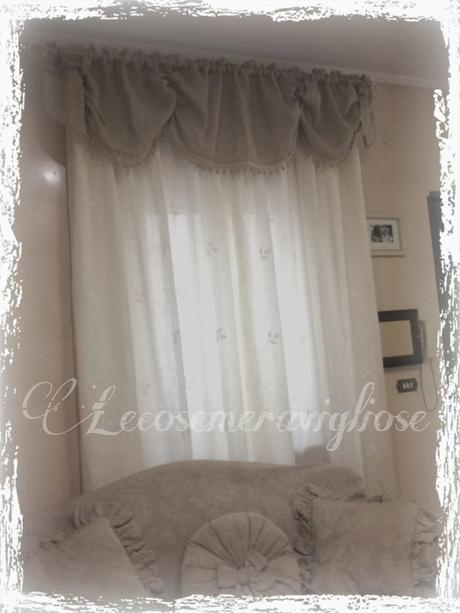 Tende cuscini e complementi creativi country e shabby for Tende country chic