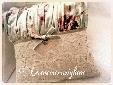 Tende cuscini e complementi creativi country e shabby for Cuscini country chic