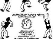 ROMA: mostra bianco nero HulaHoop Club libreria L'ETERNAUTA