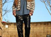 Leather loves Denim