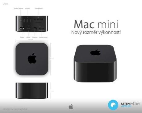 mac mini 640x512 600x480 Concept: Nuovo Mac Mini 2014 !!!