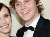 Emma Roberts Evan Peters: Coven all'altare passo breve