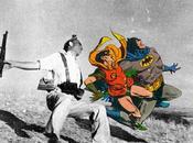 Mash-up series: Butcher Billy foto guerra supereroi