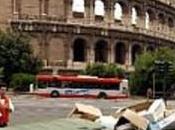 Roma, cupola spazzatura