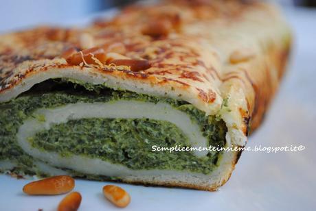 Strudel salato con ricotta e spinaci paperblog for Decorazioni con verdure e ortaggi