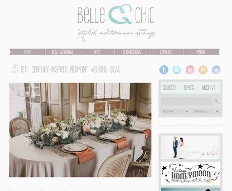 Featured on Belle & Chic