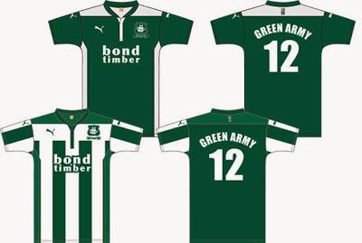 Plymouth Argyle FC, presentata la maglia 2014/15 scelta dai tifosi