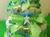 """Torta pannolini super """"star"""""""