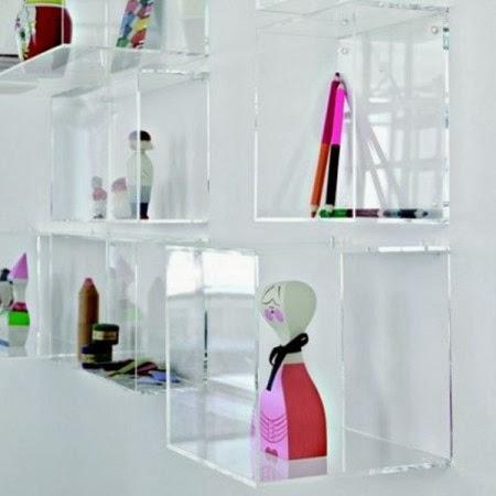 Mensole in plexiglass pi utili o pi decorative paperblog for Mensole bagno design
