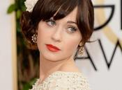Zooey Deschanel Golden Globe Awards 2014 LOOK