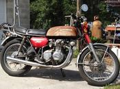 Honda Four 1973 Steel Bent Customs