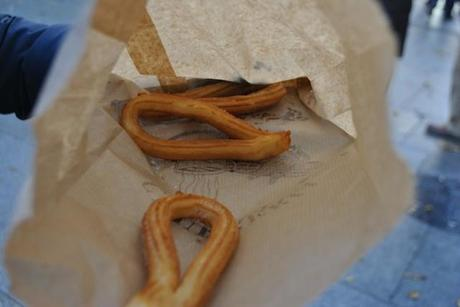 Churros - Madrid, Spagna