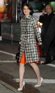 Michelle+Dockery+Outerwear+Evening+Coat+58n7HMrtE3tx