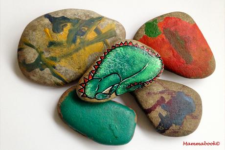 Super Attività artistiche per bambini: dipingiamo i sassi - Painting  FF43