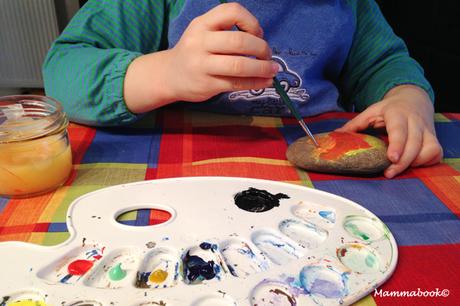 Favorito Attività artistiche per bambini: dipingiamo i sassi - Painting  GP41