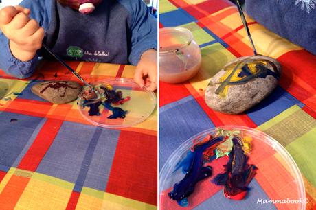 Favoloso Attività artistiche per bambini: dipingiamo i sassi - Painting  UK25