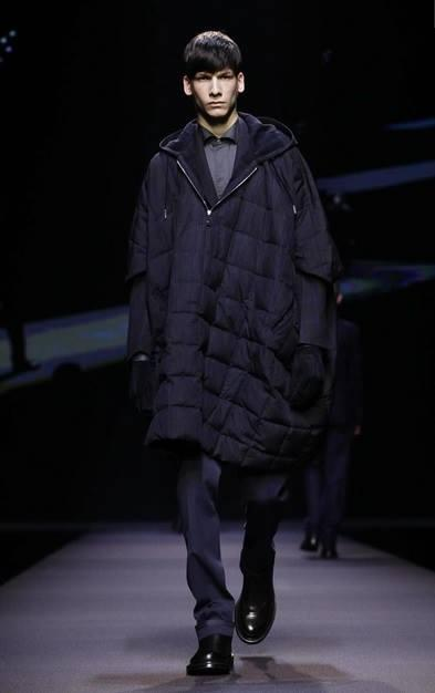 model sam maouchi ermenegildo zegna mfw 2014 fashion week milano