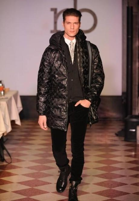 MODEL SANDER HOEKSMA ROCCOBAROCCO MILANO FASHION WEEK 2014