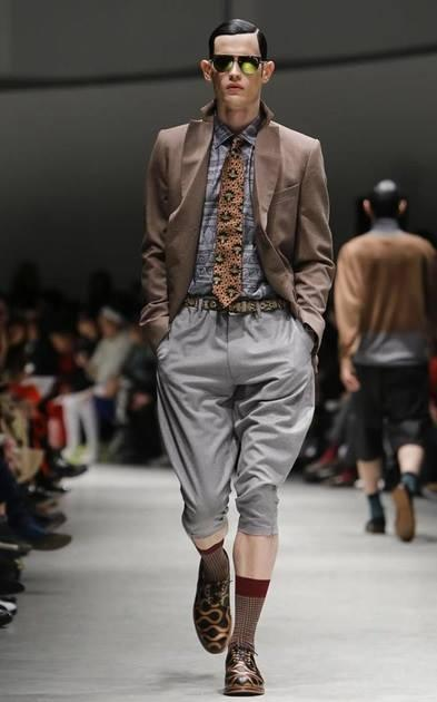 model jakub paston in vivienne westwood milano fashion week 2014