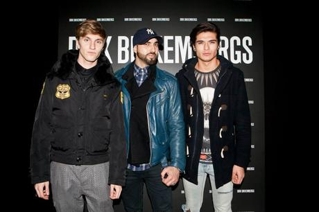 DIRK BIKKEMBERGS FROZEN PARTY MFW14 MILANO FASHION WEEK 2014
