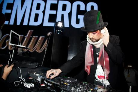 DIRK BIKKEMBERGS FROZEN PARTY MFW14 MILANO FASHION WEEK 2014 BOY GEORGE