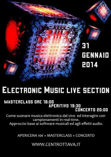 Electronic Music Live Section