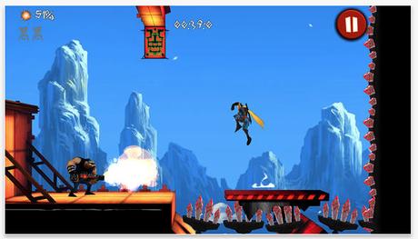 Shadow Blade un ottimo game: frenetico platform d?azione per iOS con