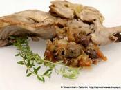 Tajine coniglio olive taggiasche, santoreggia, semi finocchietto macis vermentino